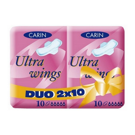 CARINE Ultra Wings DUO 2 x 10 ks