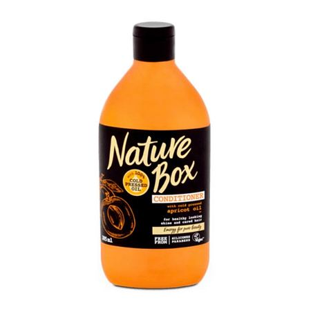 NATURE Box vlasový balzám Apricot 385 ml