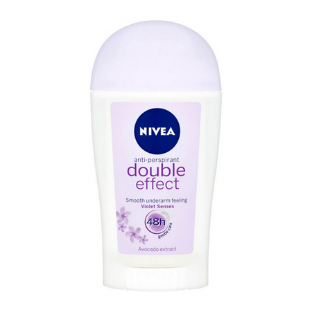 NIVEA deo tuhý Double Effect 40 ml    6 ks