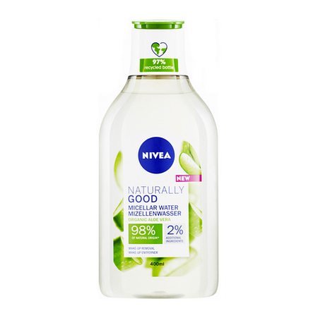 NIVEA Naturally Good micelární voda 400 ml